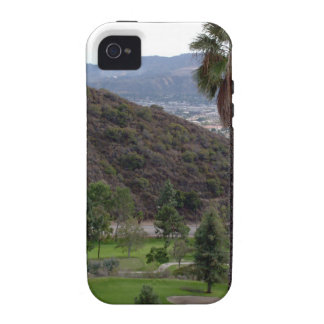 Glendale atop the Verdugo Mountain Range iPhone 4/4S Covers
