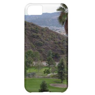 Glendale atop the Verdugo Mountain Range iPhone 5C Case