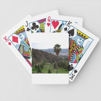 Glendale atop the Verdugo Mountain Range Bicycle Card Deck