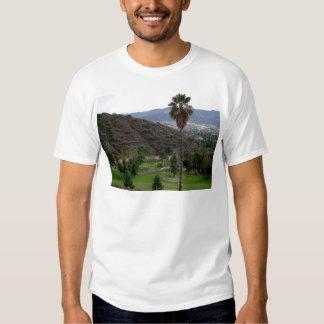 Glendale atop the Verdugo Mountain Range Shirts