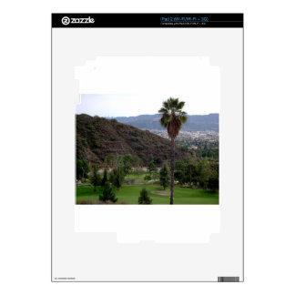 Glendale atop the Verdugo Mountain Range Decal For The iPad 2