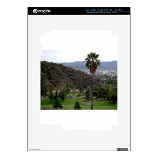 Glendale atop the Verdugo Mountain Range iPad 3 Decal