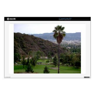 "Glendale atop the Verdugo Mountain Range 17"" Laptop Decals"
