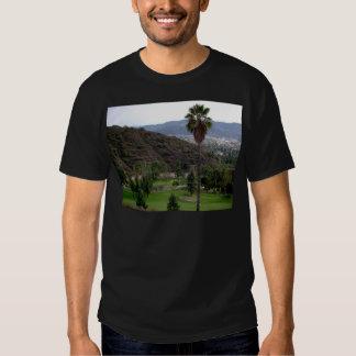 Glendale atop the Verdugo Mountain Range T-shirt