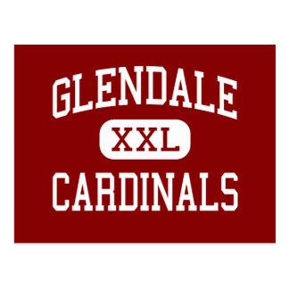 Glendale - Cardinals - High - Glendale Arizona Postcard