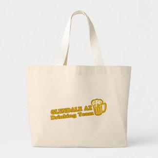 Glendale Drinking Team tee shirts Canvas Bag