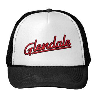 Glendale in red trucker hat