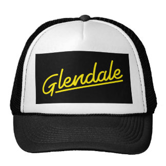 Glendale in yellow trucker hat