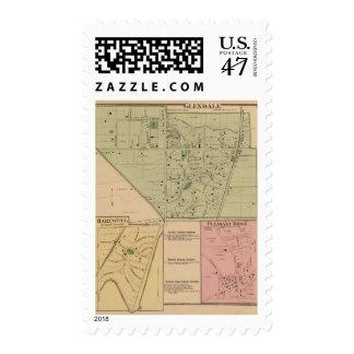 Glendale, Ohio Timbre Postal