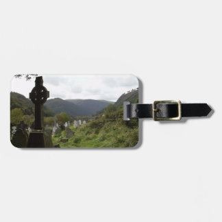Glendalough Celtic Cross Bag Tag
