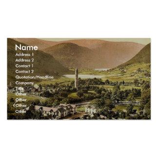 Glendalough. Co. obra clásica Photochr de Wicklow, Tarjetas De Visita