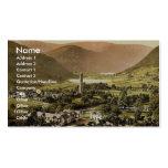 Glendalough. Co. Wicklow, Ireland classic Photochr Business Card Templates
