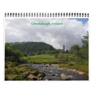 Glendalough Ireland Wall Calendar