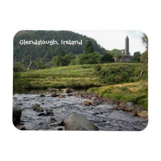 Glendalough Ruins Rectangular Photo Magnet