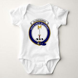 Glendinning  Clan Badge Baby Bodysuit