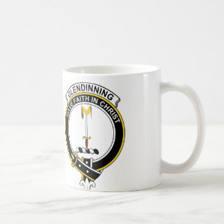 Glendinning Clan Badge Coffee Mug