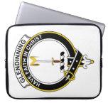 Glendinning Clan Badge Laptop Computer Sleeves