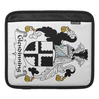 Glendinning Family Crest Sleeve For iPads