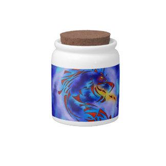 Glenfbach V1 - mystic dragon Candy Jar