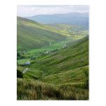 Glengesh pasa los valles Irlanda Postal
