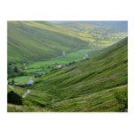 Glengesh pasa los valles Irlanda Tarjetas Postales