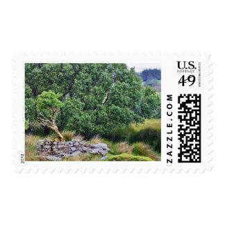 Glengesh Pass In Ireland Landscape Postage Stamps