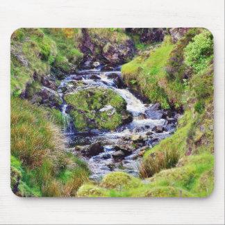 Glengesh Pass In Ireland Stream Brooks Water Moss Mouse Pad