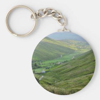 Glengesh Passes Valleys Ireland Keychains