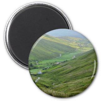Glengesh Passes Valleys Ireland Refrigerator Magnet