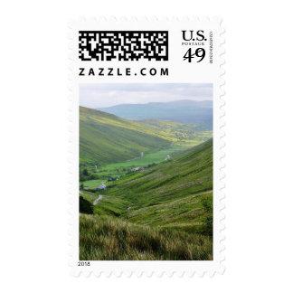 Glengesh Passes Valleys Ireland Postage