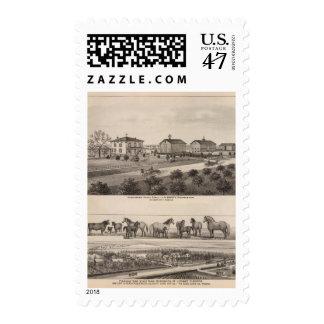 Glenhaven and Pleasant View, Kansas Postage