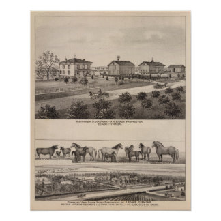 Glenhaven and Pleasant View, Kansas Poster