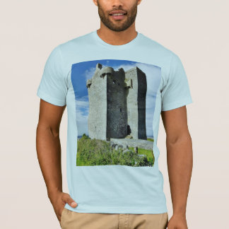 Gleninagh Castle On Hill T-Shirt