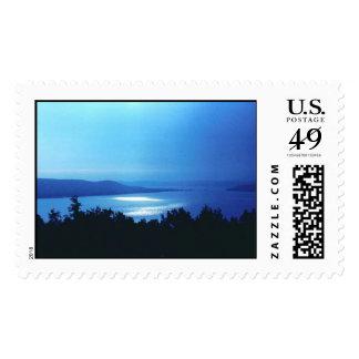 GlenLakeMI Stamp