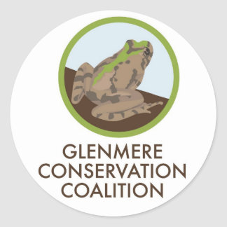Glenmere Conservation Coalition Classic Round Sticker