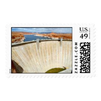 Glenn Canyon Dam and Lake Powell Stamps