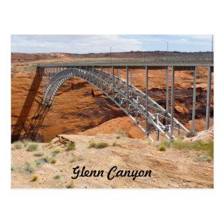 Glenn Canyon Dam Bridge Postcard