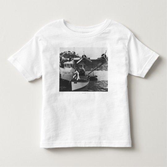 Glenn Martin w/ China Clipper Toddler T-shirt