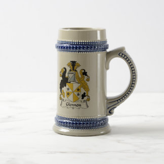 Glennon Coat of Arms Stein - Family Crest