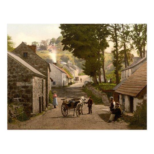 Glenoe Village, County Antrim Postcard