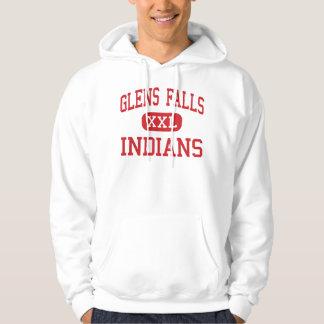 Glens Falls - Indians - High - Glens Falls Hooded Pullover