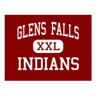 Glens Falls - Indians - High - Glens Falls Post Card