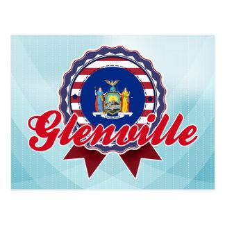 Glenville NY Tarjeta Postal