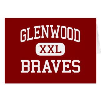 Glenwood - Braves - Middle - Chatham Illinois Greeting Card