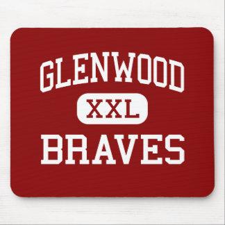 Glenwood - Braves - Middle - Chatham Illinois Mouse Pad
