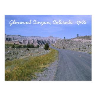 Glenwood Canyon Postcard
