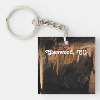 Glenwood Caverns Acrylic Keychain