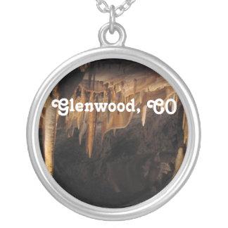 Glenwood Caverns Round Pendant Necklace