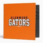 Glenwood High School; Gators 3 Ring Binder