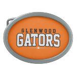 Glenwood High School; Gators Oval Belt Buckles